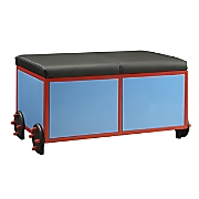 blue tobi storage bench