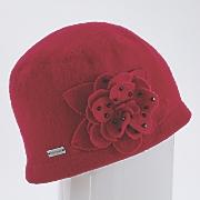 felt floral hat by betmar