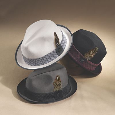 Crushable Fedora by Stacy Adams