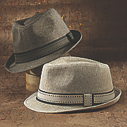 low crown fedora