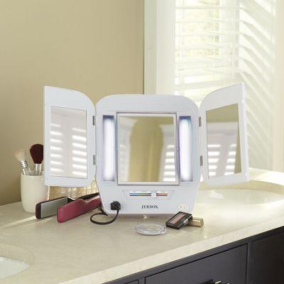 Tri-Fold Makeup Mirror