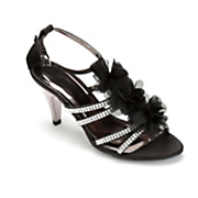 Ruffle Flower Sandal by Midnight Velvet