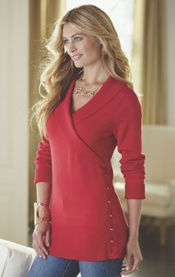 Cherri Side Lace-Up Sweater