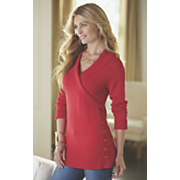 cherri side lace up sweater