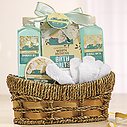 Lily and Jasmine Bath Set