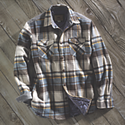 lined flannel by dakota grizzly