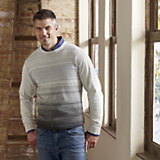 men s variegated sweater