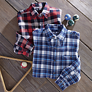 2-Pack Plaid Flannels