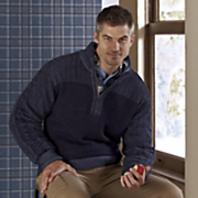 quarter zip sweater 18