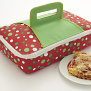insulated holiday tote