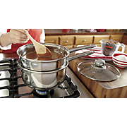 4 pc  double boiler steamer