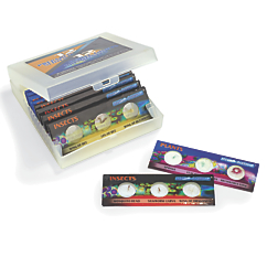prepared microscope slides 12 pack