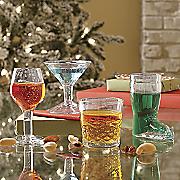 4-Piece Mini Cocktails Shot Glass Set
