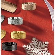 Stainless Steel Prayer Ring
