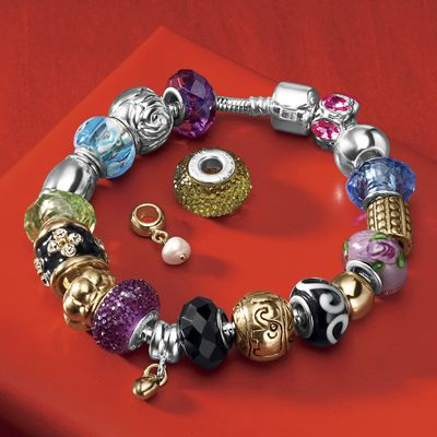 Slider Charm Braclet Set