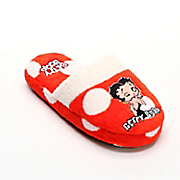betty boop red polka dot slippers