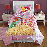 Princess Fabulous Friends Comforter and Sheet Sets