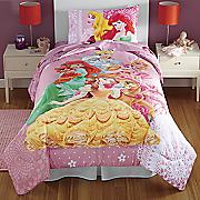 Princess Fabulous Friends Comforter and Sheet Sets