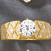 round deco side ring