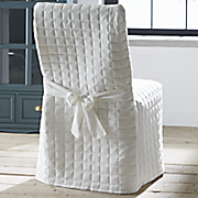 Quilted Dining Chair Cover