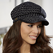 Textured Newsboy Cap