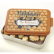 personalized halloween cake pan