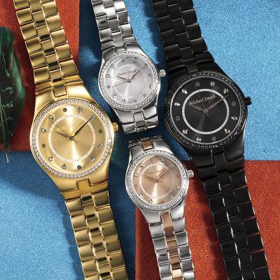 Name 6-Diamond Bracelet Watch