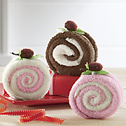 set of 3 swirl cake dishcloths