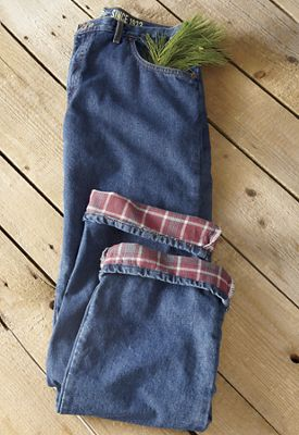 Flannel-Lined Jean by Dickies