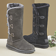Suede 3 Button Boot by Skechers