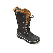 Tall Quilted Lace-Up Boot by Skechers