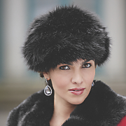 Faux Fur Pull-On Hat