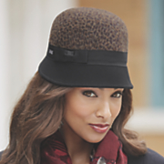 felted brim hat