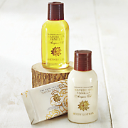 argan oil   vanilla spa bath set