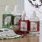 holiday soap   lotion set