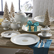 47 pc  prestige dinnerware set