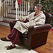 personalized microplush robe