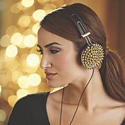 spiked high performance headphones
