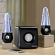 2 1 channel bluetooth dancing speaker by sharper image