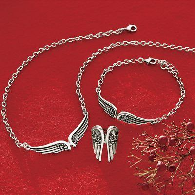 Sterling Silver Angel Wings Jewelry