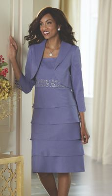 Shimmer Jacket Dress