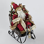Musical Jolly Ole St. Nick in Sleigh