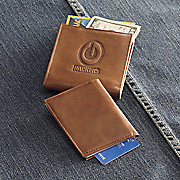 nfl leather wallet