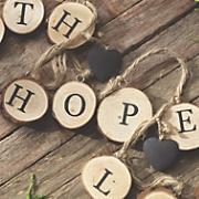 Faith, Hope, Love Garland