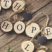 faith  hope  love garland
