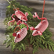 Set of 3 Mouse Ornaments