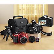 18 MP Bridge Camera Bundle with 30x Zoom by Polaroid