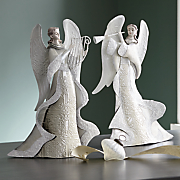 angel musician figurines