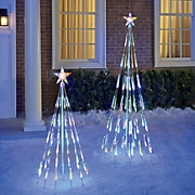 LED Color-Changing Bubble Light Tree