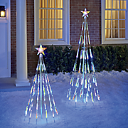 led color changing bubble light tree 5